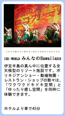 IZU・WORLD みんなのHawaiians