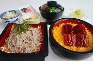 ミニうな丼セット 1600円
